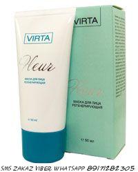 Крем-скраб для лица VIRTA Fleur на основе термальной глубоководной глины